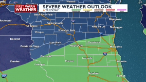 Tuesday Severe Weather Threat