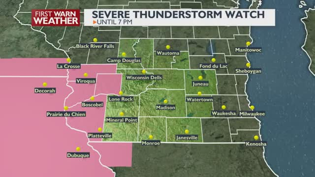 Severe Thunderstorm Watch Now Out For Parts Of The Area Chris