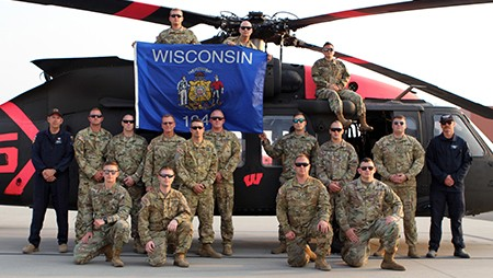 """Wisconsin National Guard """"badgers"""" Provide Wildfire Support With Cal Guard"""