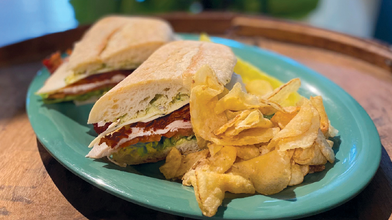 sandwich with chips
