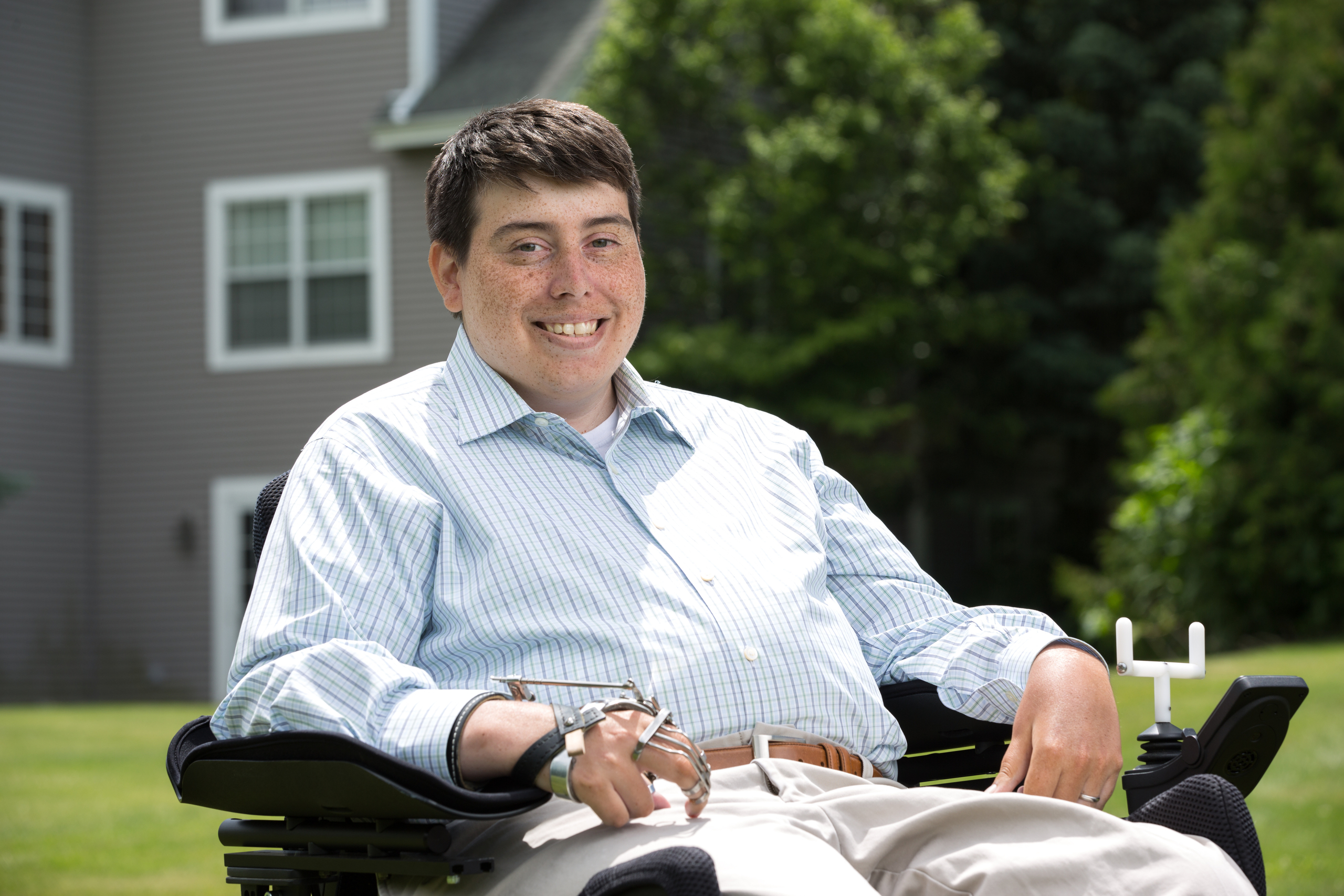 Disabled Voters Jimmy Anderson