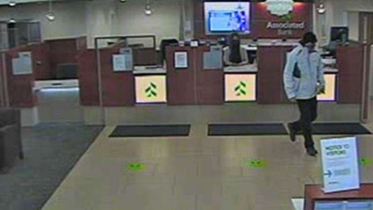 Stoughton Bank Robbery Suspect Leaving