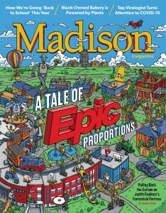 Epic cover in October 2020 Madison Magazine