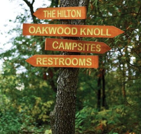 signs at camp kettlewood