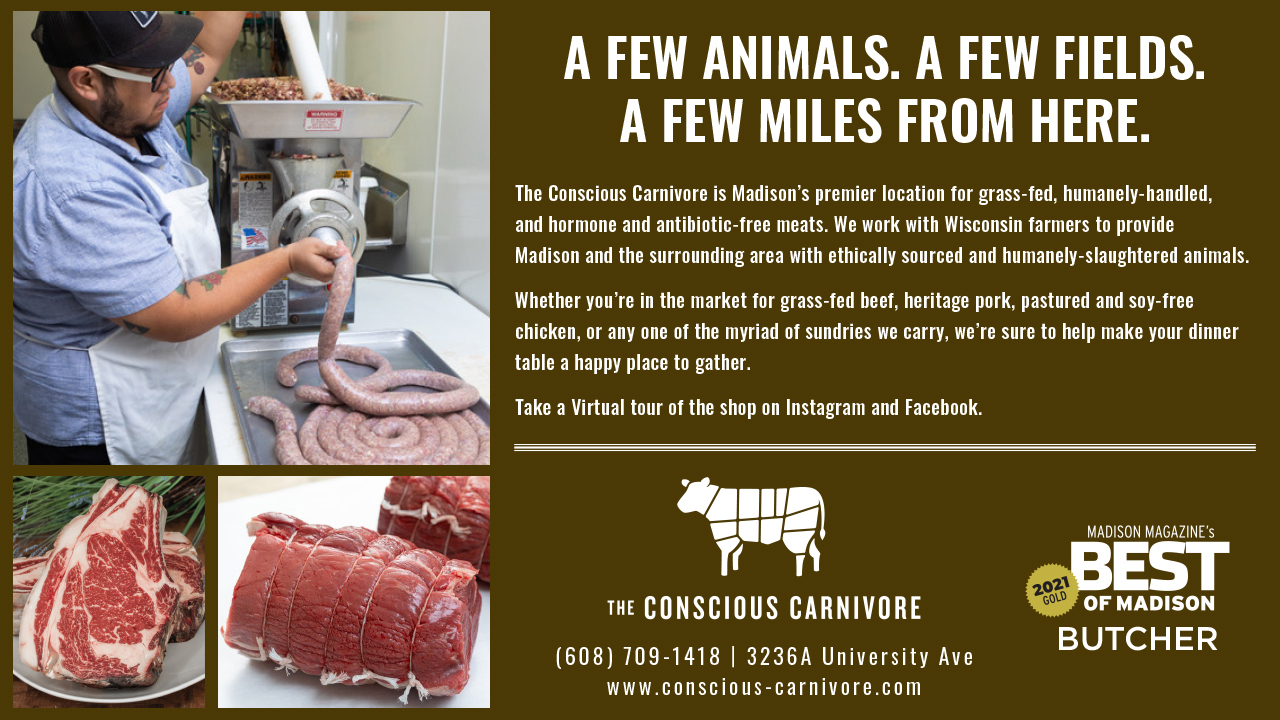The Conscious Carnivore and grinding meat
