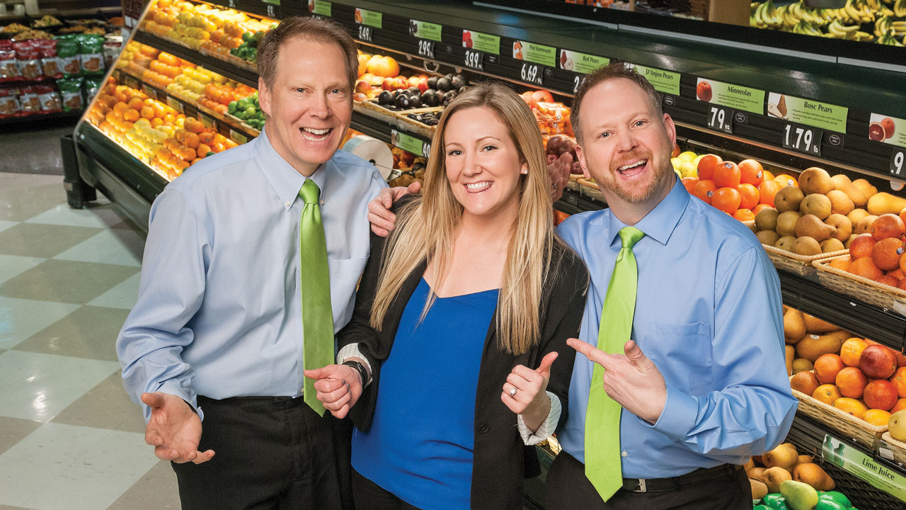 Employees from Metcalfe's Market
