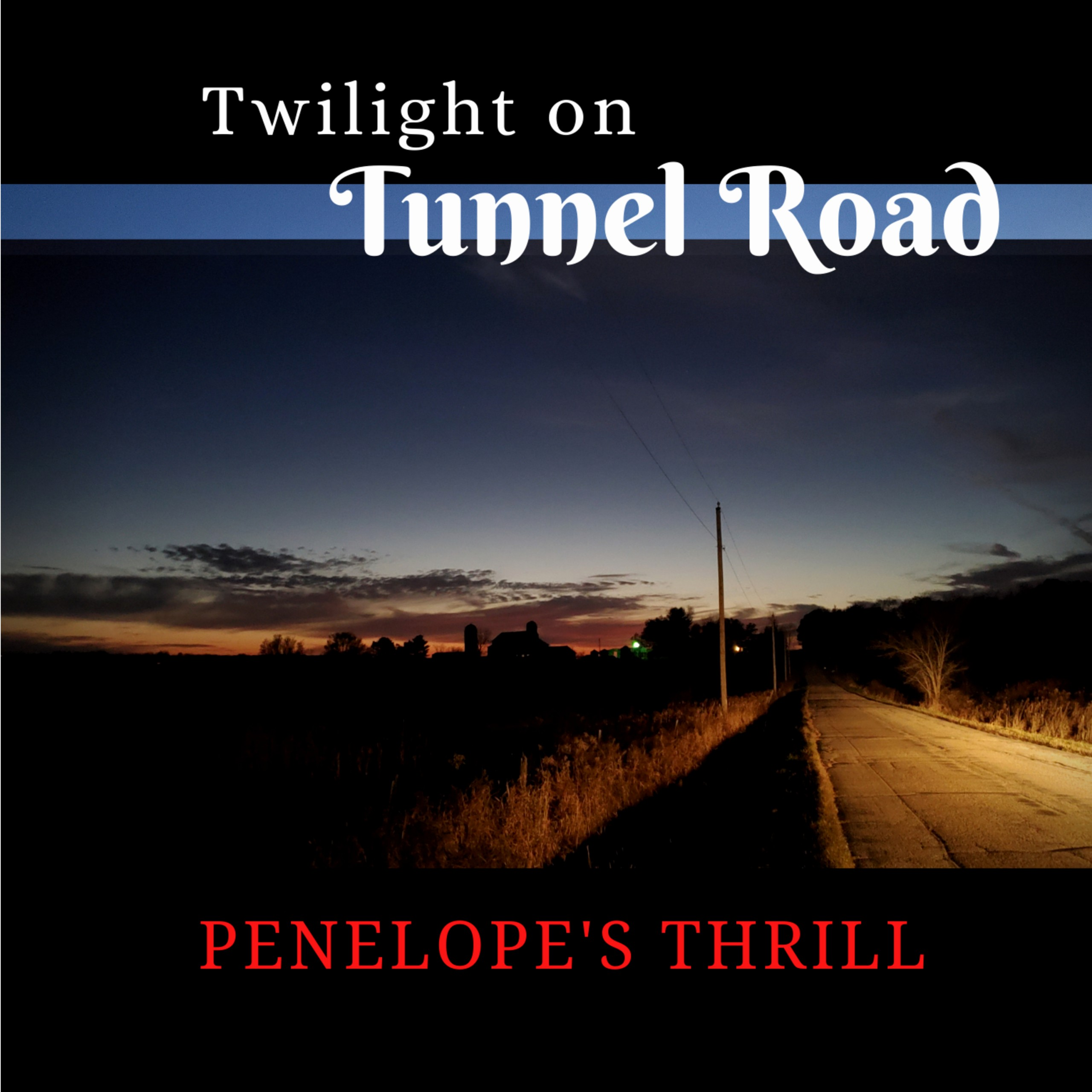 Twilight On Tunnel Road Adjusted Album Cover Blue Stripe No Title Lift 3000x3000