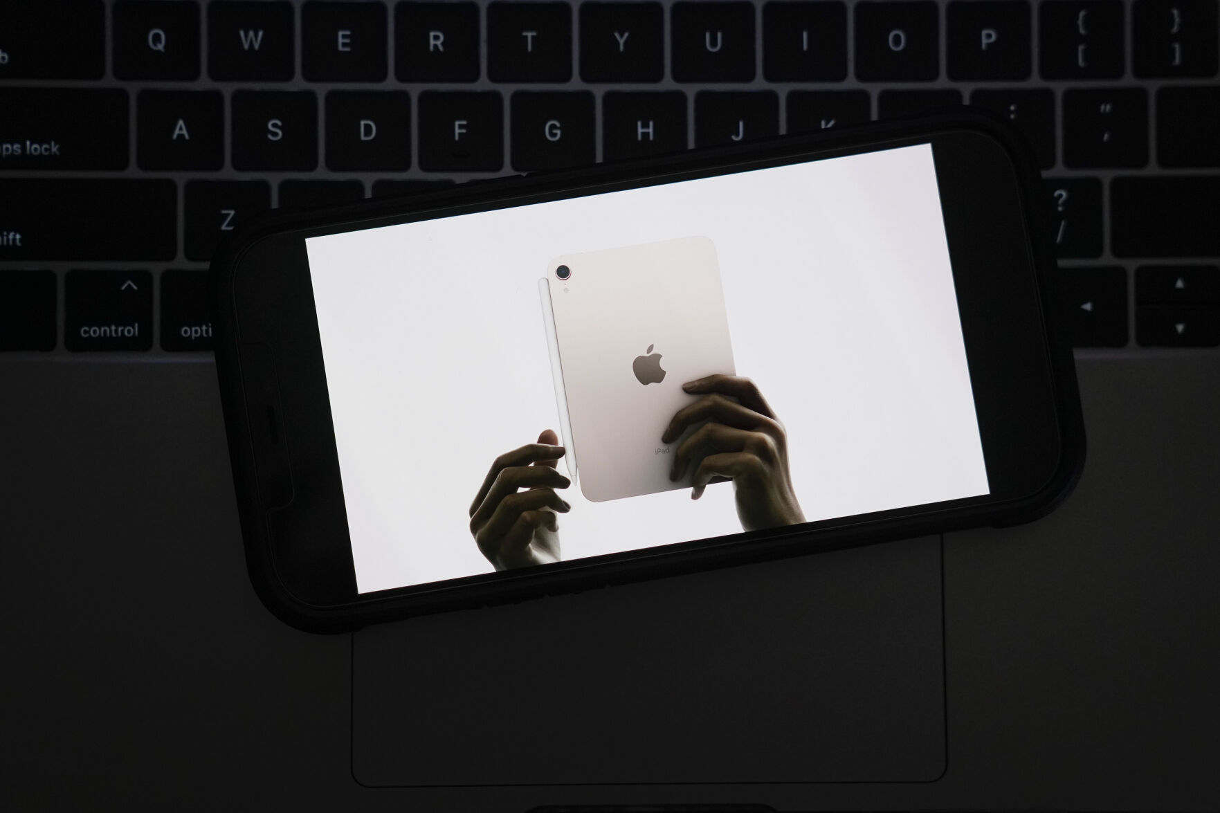 <p>Seen on the screen of a device in La Habra, Calif., the new iPad Mini is introduced during a virtual event held to announce new Apple products Tuesday, Sept. 14, 2021. (AP Photo/Jae C. Hong)</p>